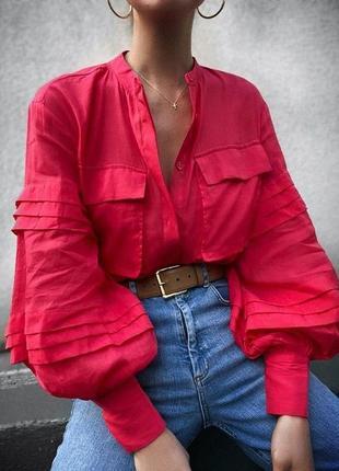 Сорочка жіноча лляна