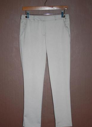 Актуальные сатиновые зауженные брюки №27