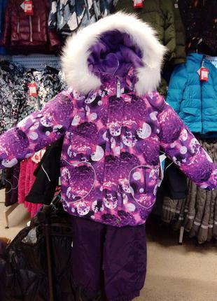 Зимний комплект lenne mimi комбинезон размер 86