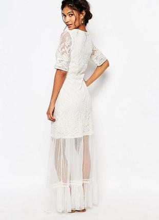 Красивое платье сетка от asos