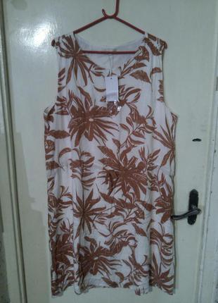 """Новое,натуральное платье большого размера,bon"""" a parte"""