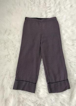 Стильные легкие брюки кюлоты m/l zara испания 🇪🇸 оригинал