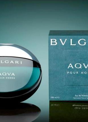 Bvlgari aqva pour hommeоригинал_eau de toilette  5 мл затест_туал.вода