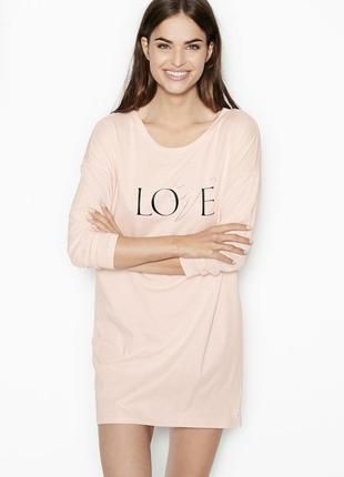 Ночная рубашка домашнее платье ночнушка туника victoria's secret оригинал