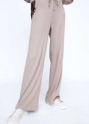 🌸 модные широкие штаны от zara 🌸