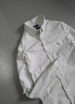 Красивая повседневная рубашка от gant, напоминает ralph lauren