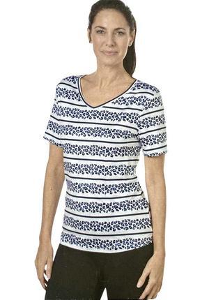 Женская спортивная футболка с анимал принтом, crivit, l