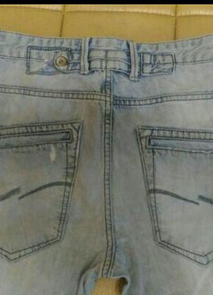 Рваные джинсы- бойфренды jack jones, р.319 фото