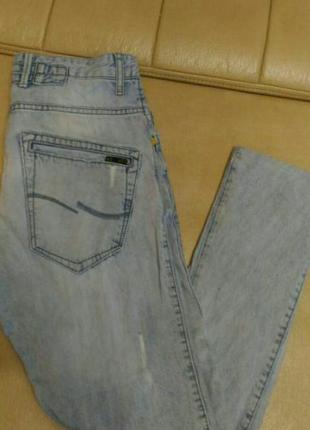 Рваные джинсы- бойфренды jack jones, р.316 фото