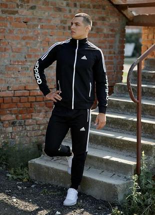 Трикотажный спортивный костюм adidas