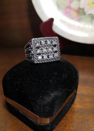 Кольцо перстень печатка