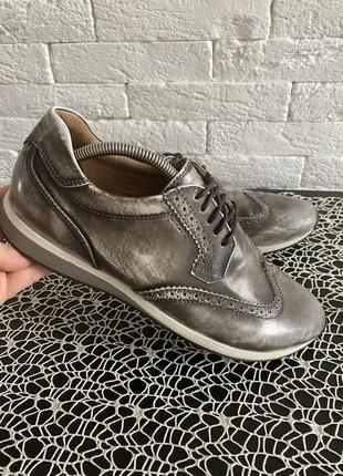 Стильные туфли на шнурках geox respira