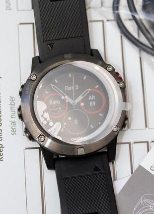 Новые часы garmin fenix 5x sapphire