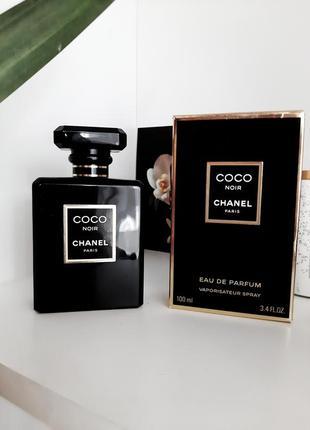 Парфюмированная вода chanel coco noir