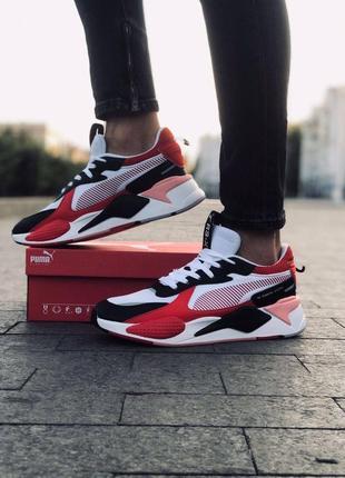 👟 новинка 👟 стильные мужские кроссовки puma r- x