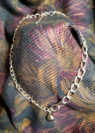 Трендовое украшение на шею. крупная цепь от fashion.