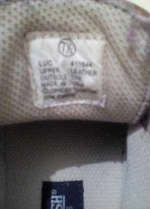 Кожаные демисезонные ботинки5 фото