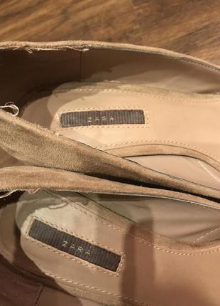Туфли зара на платформе