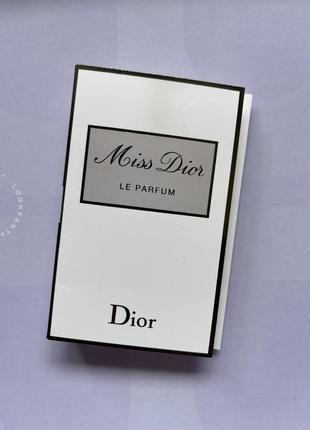 Dior/miss dior le parfum/парфуми жіночі/елітна парфумерія/класичний парфум