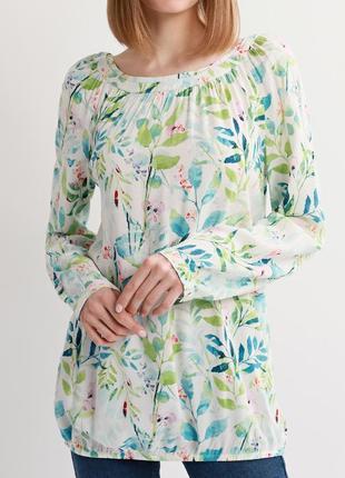 Нежная вискозная блуза s.oliver