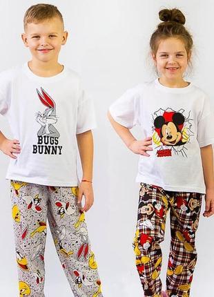 Детская пижама из натурального хлопка