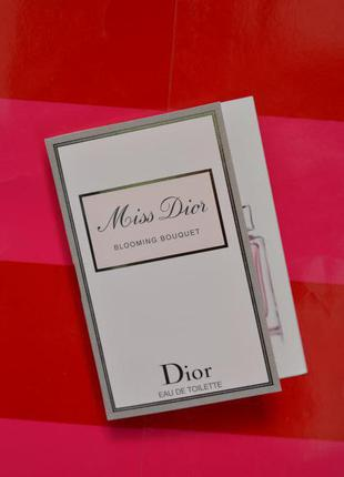 Пробник christian dior miss dior blooming bouquet