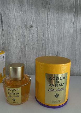 Acqua di parma iris nobile снятость
