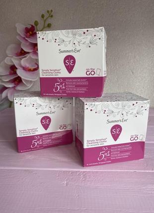 Серветки для інтимної гігієни ,індивідуальні , гіпоалергенні