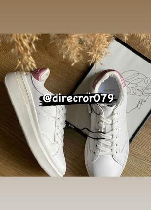 Белые кеды кроссовки базовые на платформе bershka оригинал