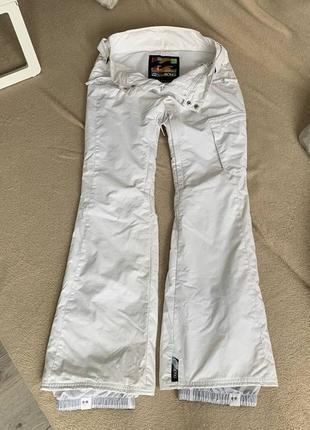 Лыжные сноубордические штаны зимние вillabong лижні штани