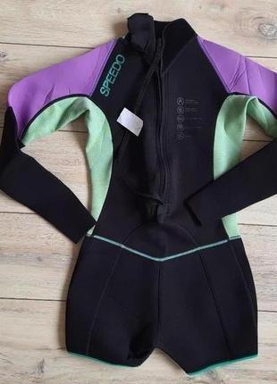 Гидрокостюм womens speedo long sleeve swimsuit размер l-ка
