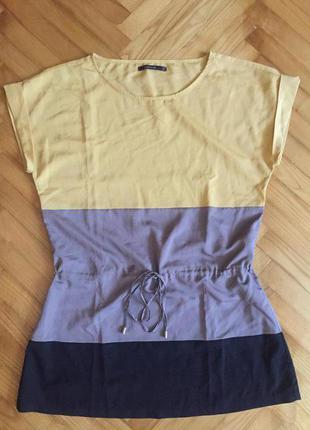 Шифоновая 3-цветная блуза от reserved! p.-38