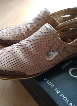 Мужские замшевые туфли kadar