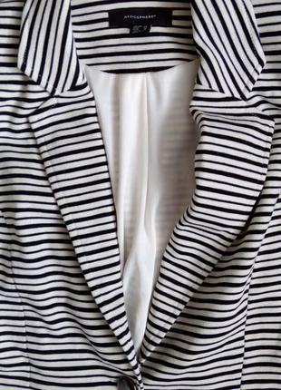 Знижки, подарунки! 💖 трикотажний смугастий піджак, люкс якість4