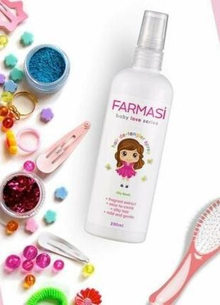 """Детский спрей для волос """"лёгкое расчёсывание"""" от farmasi, 200мл"""