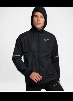 Nike running ветровка м л куртка оригинал олимпийка