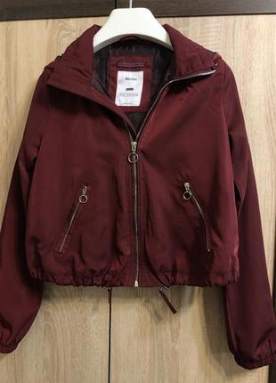 Куртка куртка bershka бомбер ветровка