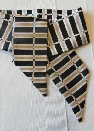 Caroline flueler | switzerland -шарф -завязка 100% шелк