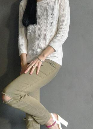Болотные джинсы stradivarius