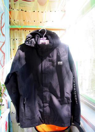 Мембранная куртка хардшелл helly hansen, р.s-m