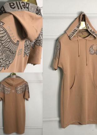 Шикарное платье, люкс качество, размер м.
