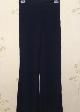 Стильные брюки с лампасами высокая посадка h&m