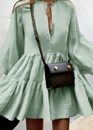 Нежное платье актуального фасона