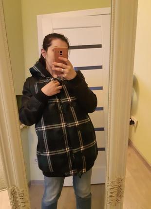 Красивая куртка, можно для беременной