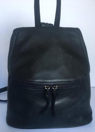 Стильный городской рюкзак jobis,натуральная кожа