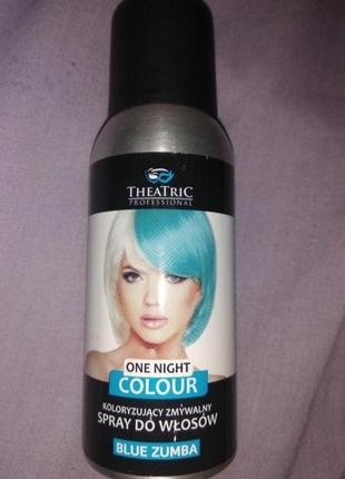 Голубий синій тонік для волосся голубой синий тоник для волосс