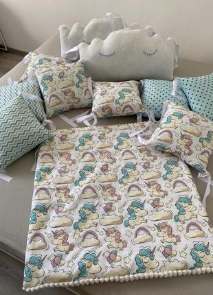 Бортики на дитяче ліжко!
