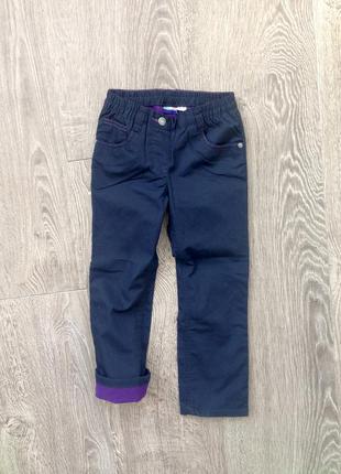 Утеплённые джинсы lupilu на 5-6 лет. германия.