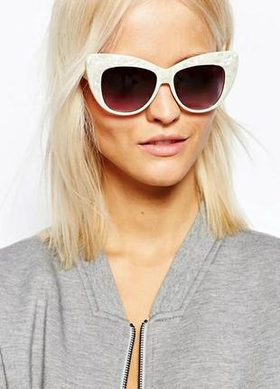 Солнцезащитные очки asos, очки кошачий глаз