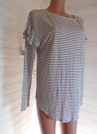 Красивая и мягенькая  блузка, лонгслив из вискозы xl-3xl